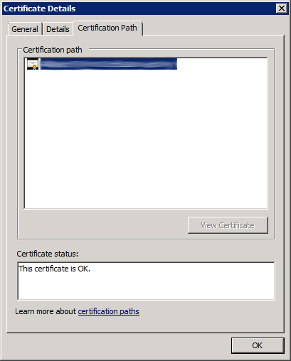 Check Root CA Certificate is OK (Step 3)