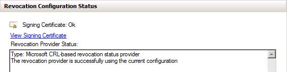 OCSP - Test configuration 2