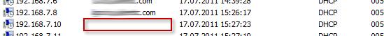 Пустое имя хоста в Windows DHCP сервере